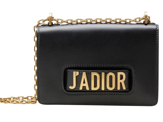 1f1746dd9e Sacs à main Dior SAC J'ADIOR Cuir Noir ref.62626 - Joli Closet