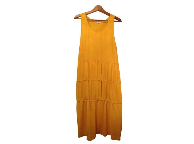 8dc3ac970c70 Maje Dresses Dresses Polyester Yellow ref.62720 - Joli Closet