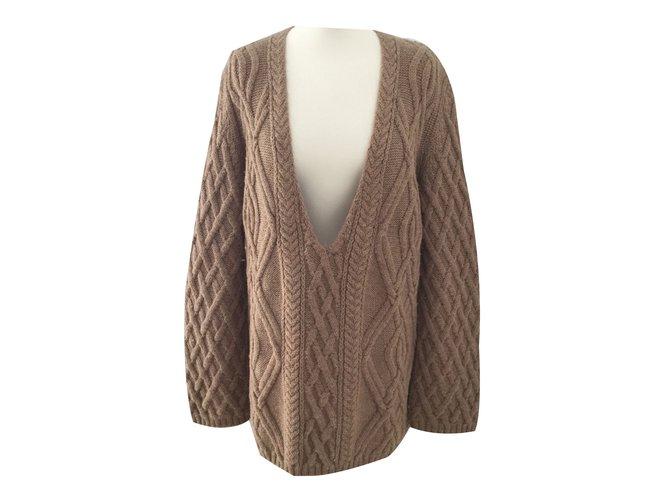 Chloé Knitwear Knitwear Wool Brown ref.62858