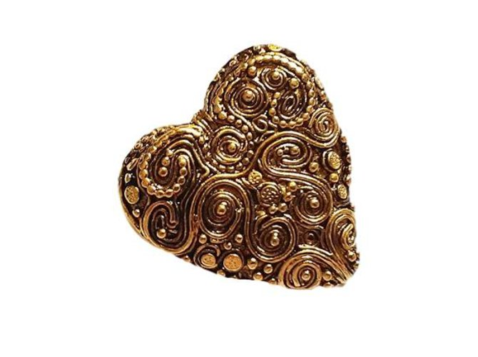 Jean Louis Scherrer Pins & brooches Pins & brooches Metal Golden ref.62877
