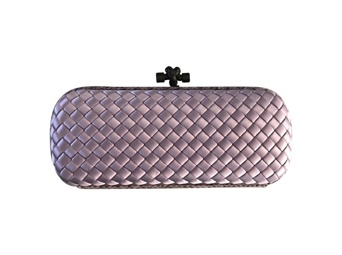ccf9b317dc Bottega Veneta KNOT Clutch bags Exotic leather