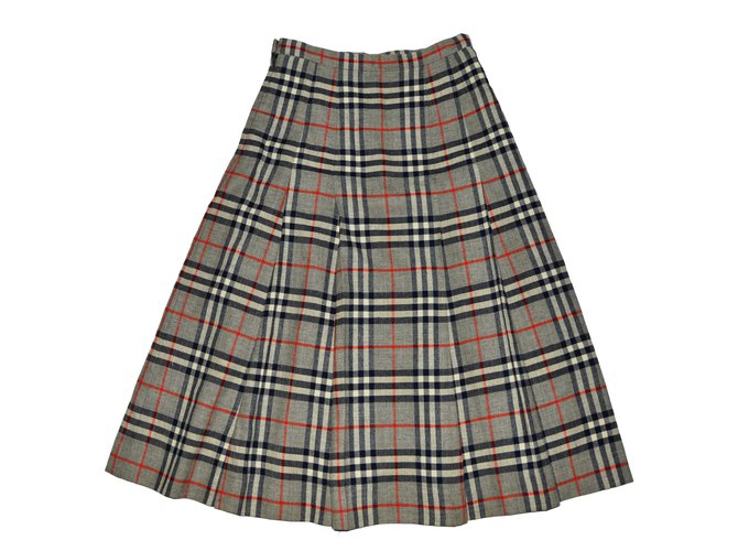 Burberry Skirts Skirts Wool Multiple colors ref.63041