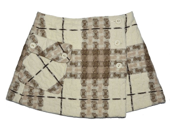 Burberry Skirts Skirts Wool Multiple colors ref.63123