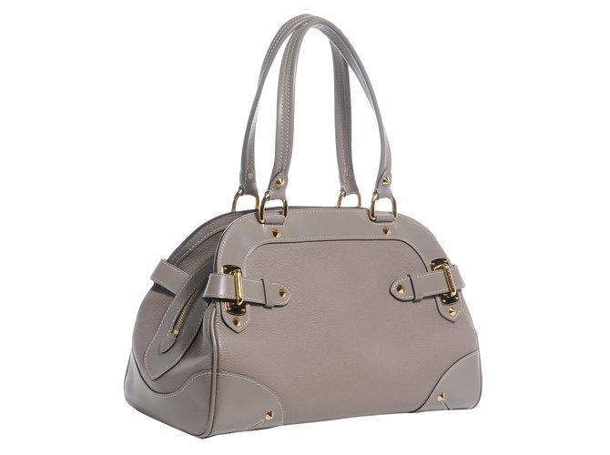 05563e24a Louis Vuitton Suhali L'ingenieux Handbag Leather PM Handbags Patent leather  Grey ref.63150