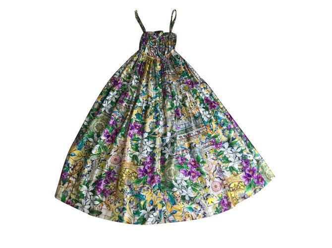 a92b24a8 Dolce & Gabbana Dresses Dresses Silk Multiple colors ref.63431 ...
