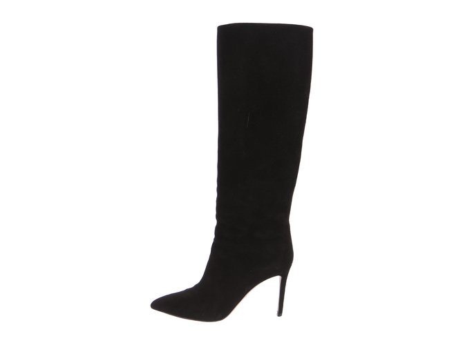 Gucci Brooke black suede boots Boots