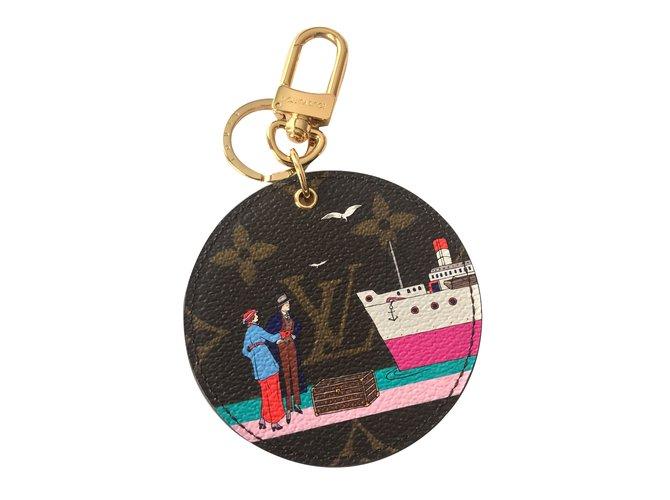 Louis Vuitton Bag Charms Leather Multiple Colors Ref 63742