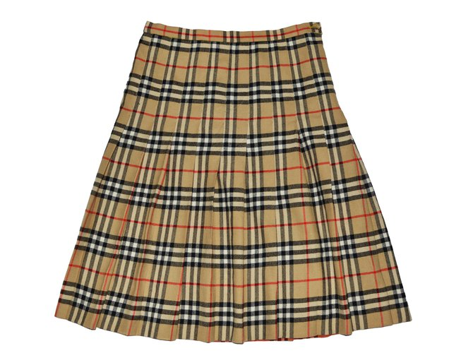 Burberry Skirts Skirts Wool Multiple colors ref.64040