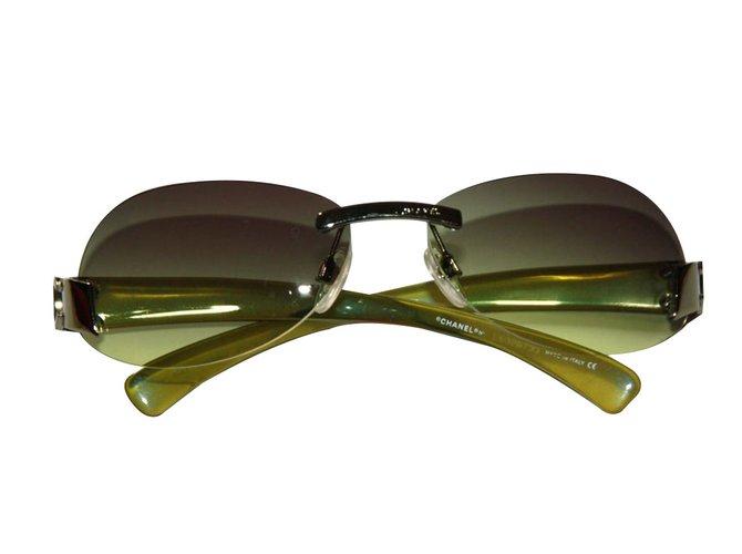 Lunettes Chanel solaire Chanel Autre Autre ref.64048 - Joli Closet 952203d05e93