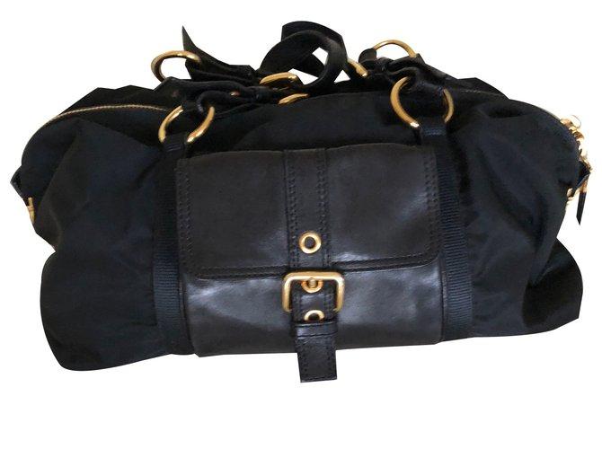 Prada Handbags Nylon Black Other Ref 64193