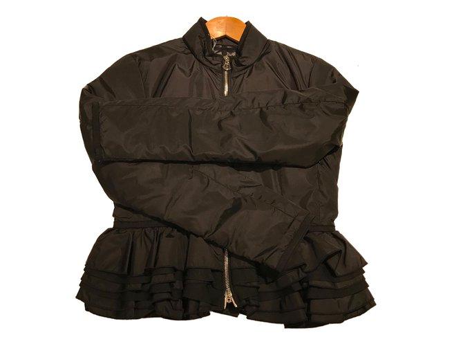 Moncler Moncler down jacket Jackets Polyamide Black ref.64358