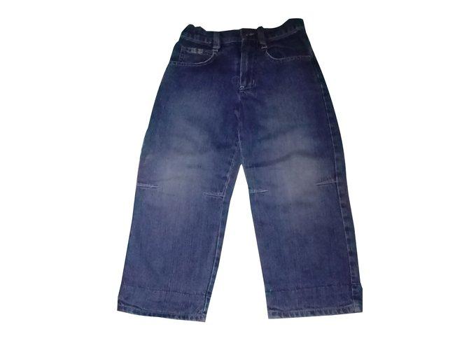 Pantalons garçon Burberry Pantalons garçon Jean Bleu ref.64517
