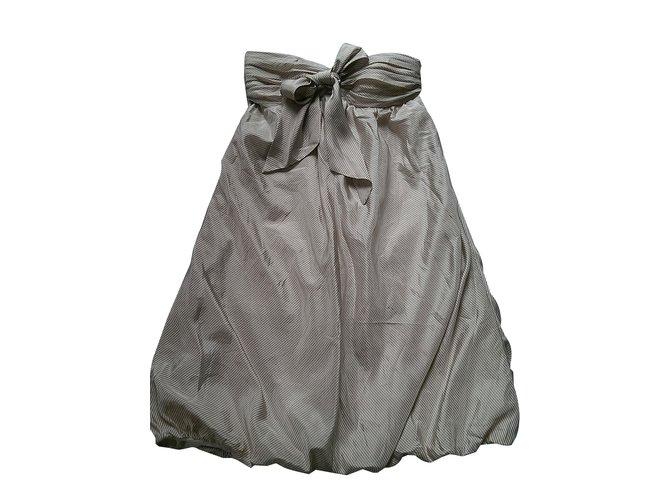 1dc1981bd6e Robes Bcbg Robes Soie Crème