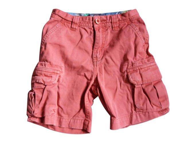 Polo Ralph Lauren Boy Shorts Boy Shorts Cotton Dark red ref.64790