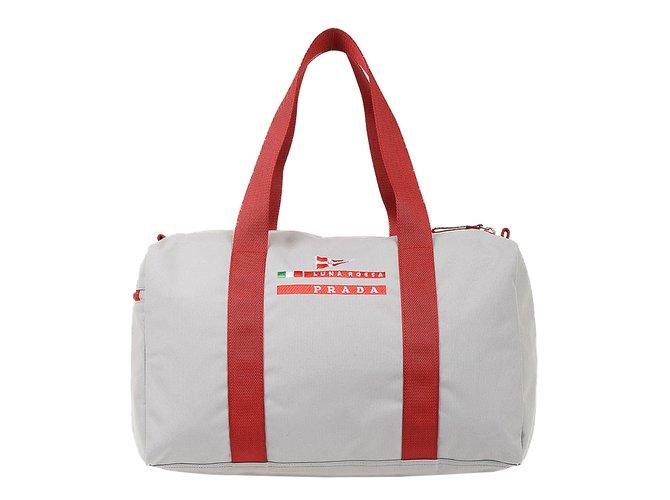 22999cc01bba Prada Luna Rossa Duffle bag new Bags Briefcases Nylon Grey ref.64865 ...