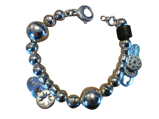 1ab7ab6b58 Clio Blue Bracelets Bracelets Silver Silvery ref.64867 - Joli Closet