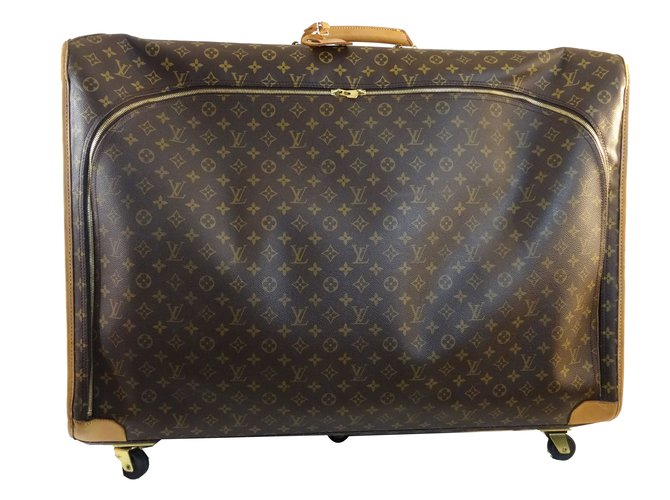 4b401f683cdd Louis Vuitton Travel Bag Leather Brown Other Ref 65061
