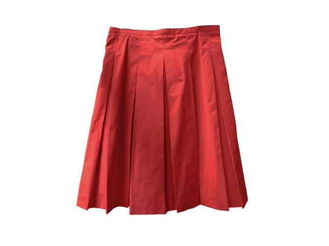 Burberry Skirts Skirts Polyester Red ref.65133