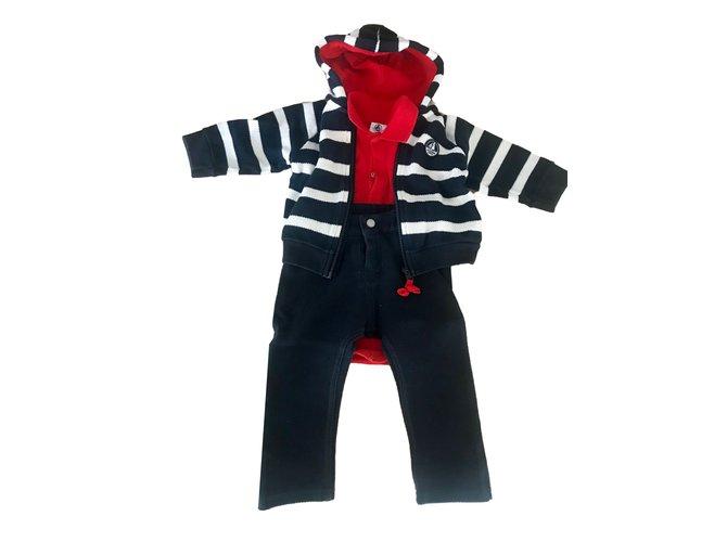Petit Bateau Outfits Outfits Cotton Multiple colors ref.65352