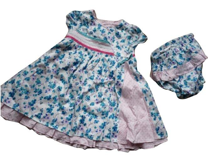 Robes fille Kenzo Robe & bloomer Kenzo Kids Coton Autre ref.65534