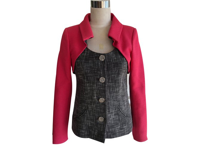 Chanel Jackets Jackets Cotton Multiple colors ref.65803