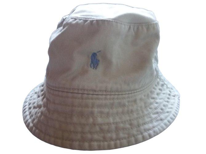 Chapeaux, bonnets, gants Polo Ralph Lauren Chapeaux, bonnets, gants Coton Beige ref.65898