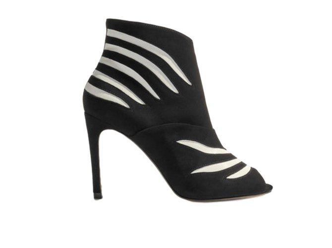 7c9c0c747b1 Karen Millen Boots Boots Leather Black ref.65905 - Joli Closet