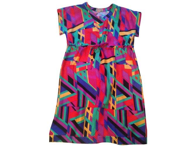 Apc Madras Dresses Multiple colors Silk  ref.65992
