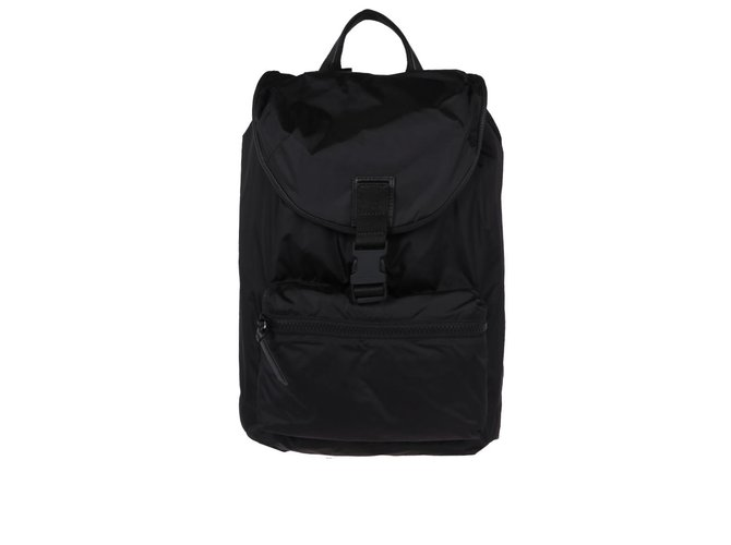 de392ebe94c7 Givenchy GIVENCHY Obsedia nylon backpack Bags Briefcases Polyamide Black  ref.66020