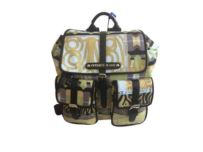 a20b17971123 Versace Backpack Backpacks Nylon Multiple colors ref.66071 - Joli Closet