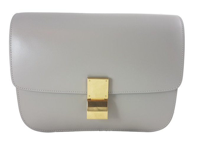 5845a54445e9 Facebook · Pin This. Céline Classic Box Clay Crossbody bag Handbags Leather  Other ref.66135