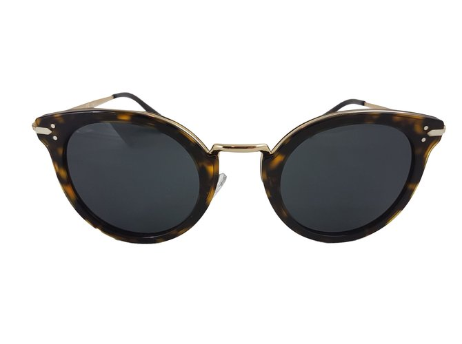 93d1d7f9fdc Céline CAT EYE SUNGLASSES IN ACETATE AND METAL Sunglasses Other Other  ref.66153