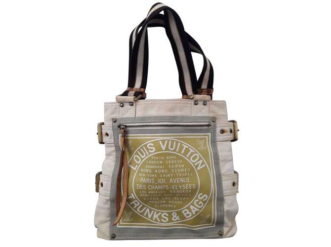 b0b6bac9bd3e Louis Vuitton Totes Totes Cloth Brown,Beige ref.66253 - Joli Closet