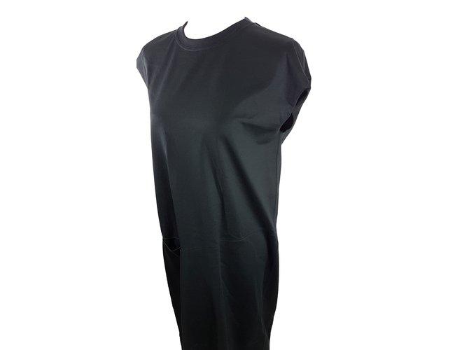 Céline Dress in Cotton Jersey Dresses Cotton Black ref.66614