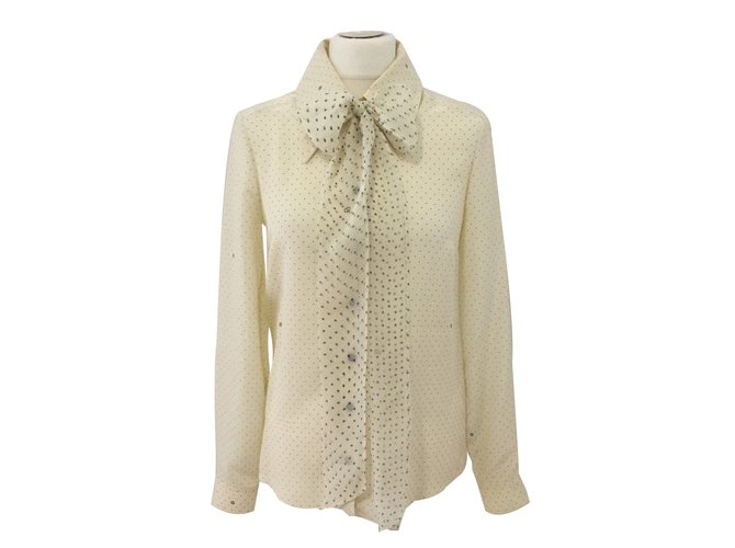 ad7267855 Gucci Tops Tops Silk Cream ref.66700 - Joli Closet
