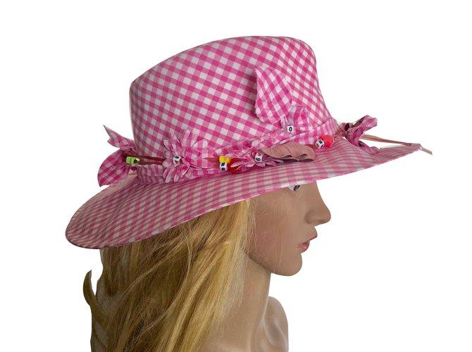 Maison Michel Hats Hats Cloth Multiple colors ref.66814