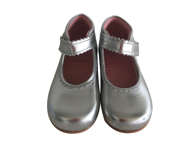 Jacadi First steps First steps Leather Silvery ref.66863