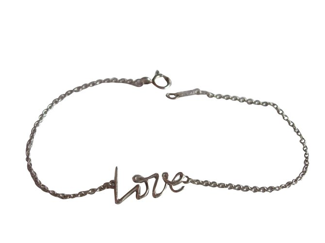 babc8472c Tiffany & Co Graffiti Love by Paloma PIcasso Bracelets Silver Silvery  ref.66899