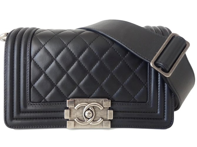 0aea394c9388bf Chanel Handbags Handbags Leather,Exotic leather Black ref.67271 ...