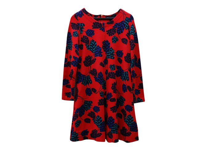 Robes Marc by Marc Jacobs Robes rayon Rouge,Multicolore ref.67696