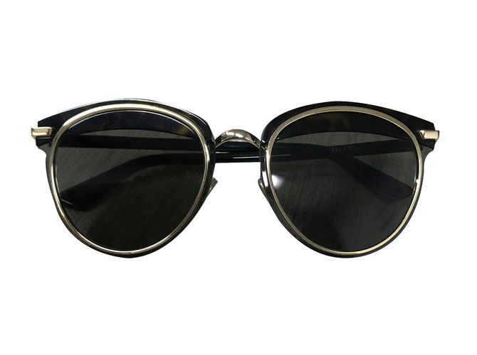 192e72bab49b3 Dior Offset1 sunglasses Sunglasses Metal Brown ref.68040 - Joli Closet