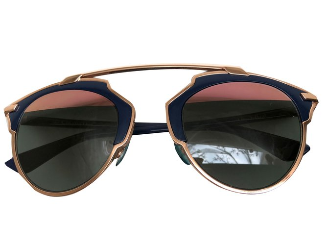 eab0e2254c2d Dior So Real Sunglasses Sunglasses Metal Blue ref.68140 - Joli Closet
