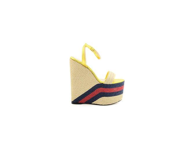 fa24057aa44 Gucci Gucci sandals new Sandals Leather Other ref.68302 - Joli Closet