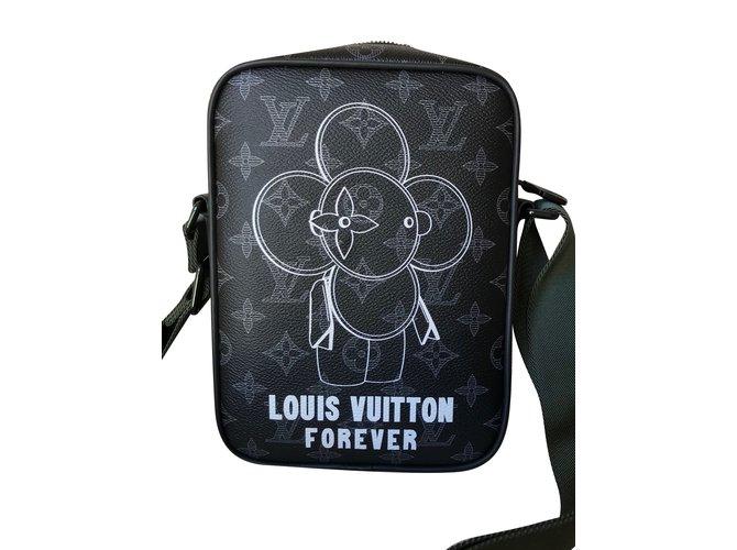 4fc939f8b3b7 Louis Vuitton Danube PM Vivienne Monogram Éclipse Canvas Messenger Bag Bags  Briefcases Linen Multiple colors ref