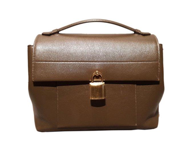 6040b1d4d51 Tom Ford Handbags Handbags Leather Light brown ref.68363 - Joli Closet