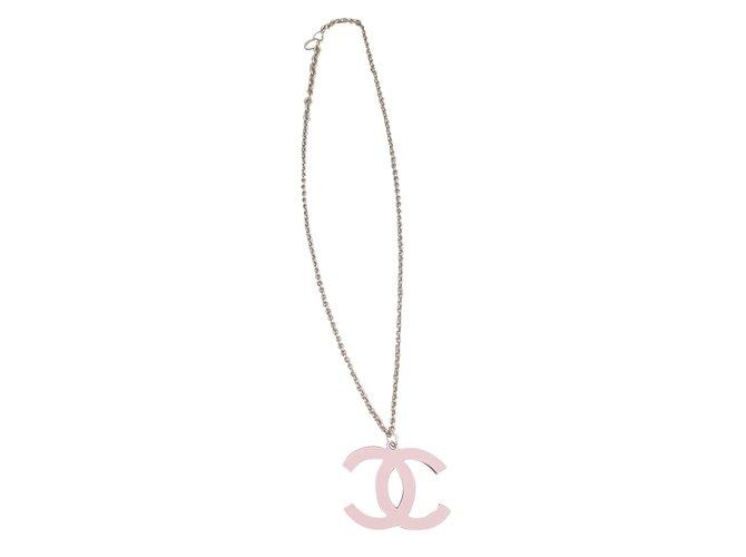 ef544764aa5a68 Chanel Necklaces Necklaces Steel Silvery ref.68374 - Joli Closet