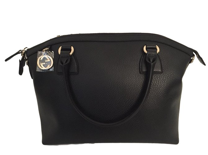 1585b2297ff9 Gucci Handbag Handbags Leather Black ref.68820 - Joli Closet