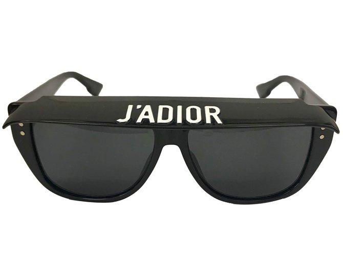 5b10f7ea5a9579 Dior club 2 Sunglasses Plastic Black ref.68998 - Joli Closet