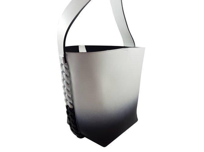 69252 À Main Ref Infinity Bag Cuir Bucket Blanc Sacs Joli Givenchy NwOvymn80P