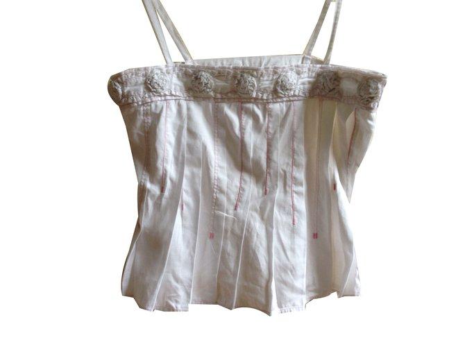 6ba0d92dce Christian Lacroix Tops Tops Cotton White ref.69415 - Joli Closet